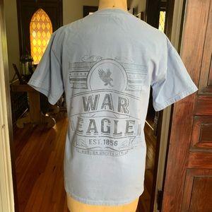 Comfort Colors Auburn Football T-shirt Small EUC